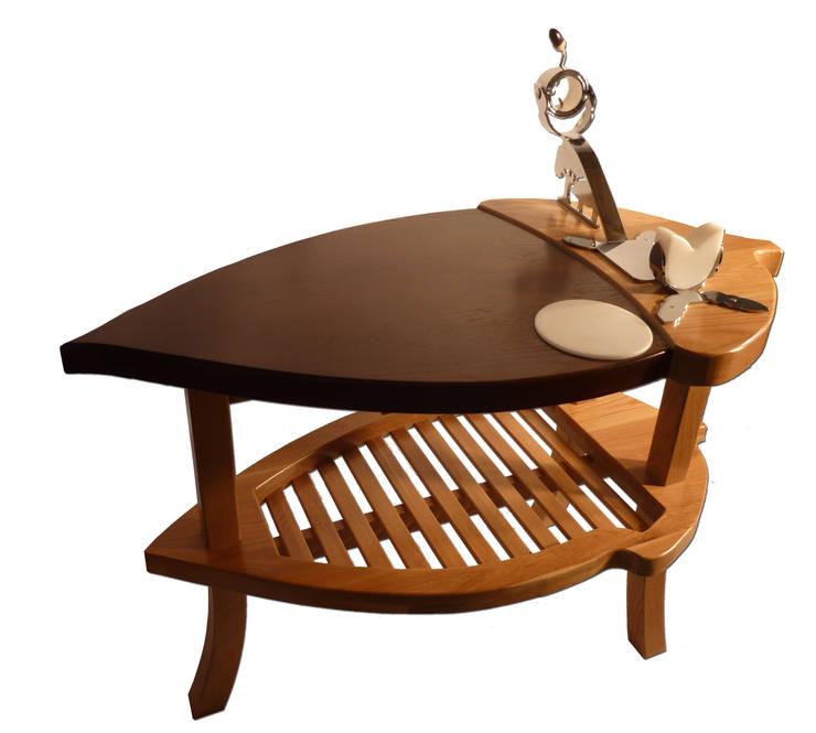 exclusiva mesa jamonera bellota: Bodegas de estilo  de Seedmo