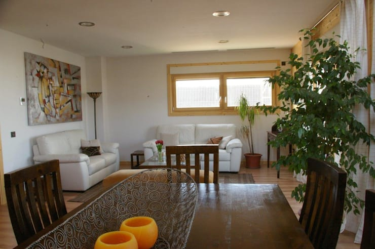 غرفة المعيشة تنفيذ Casas Natura
