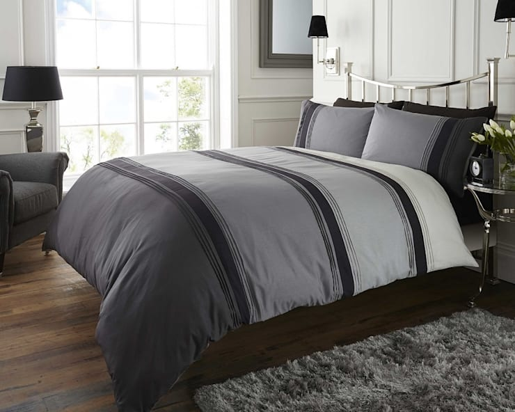 Quinn Quilt Cover Sets:  Bedroom by Century Mills
