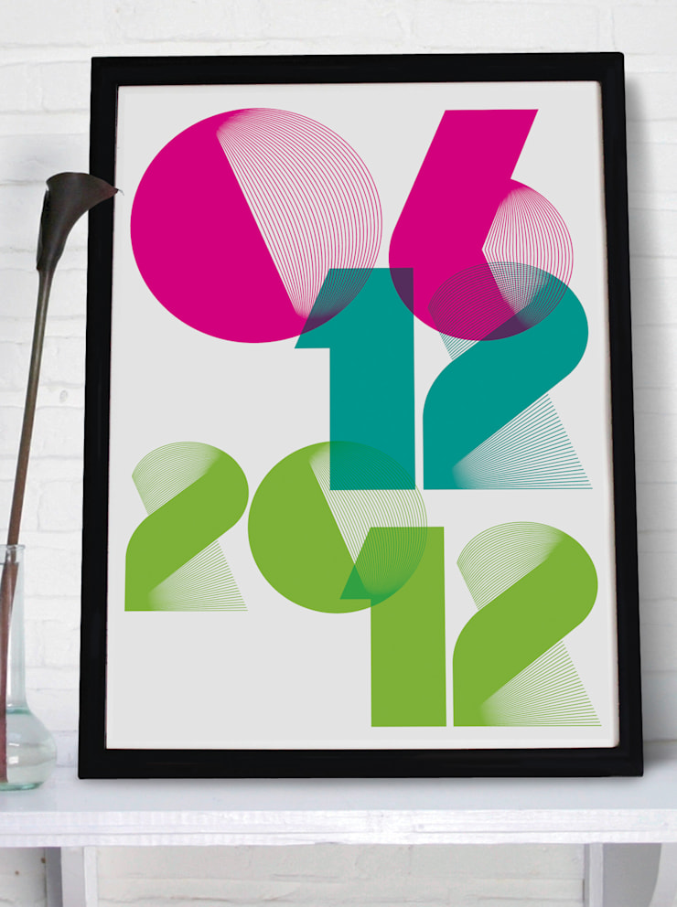 Personalised Print - SPIRO:  Artwork by MAYKI