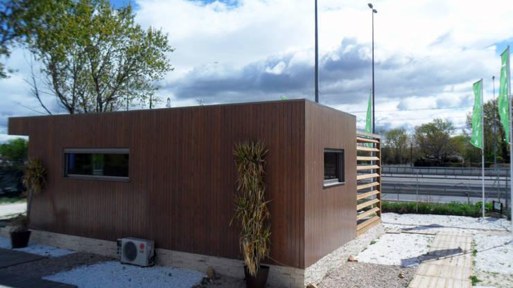 Дома в . Автор – Casas Natura