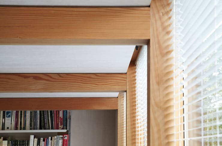 post and beam detail:  Study/office by 3rdspace