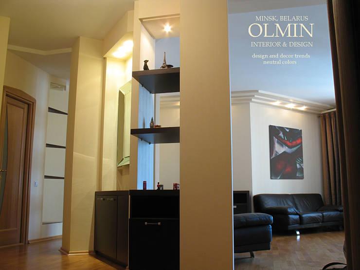 Перетекание друг в друга:  в . Автор – ИП OLMIN - Архитектурная студия Олега Минакова