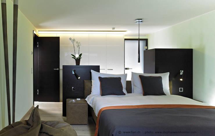 Gästezimmer 2:  Schlafzimmer von Innenarchitektur und Design Dalpiaz