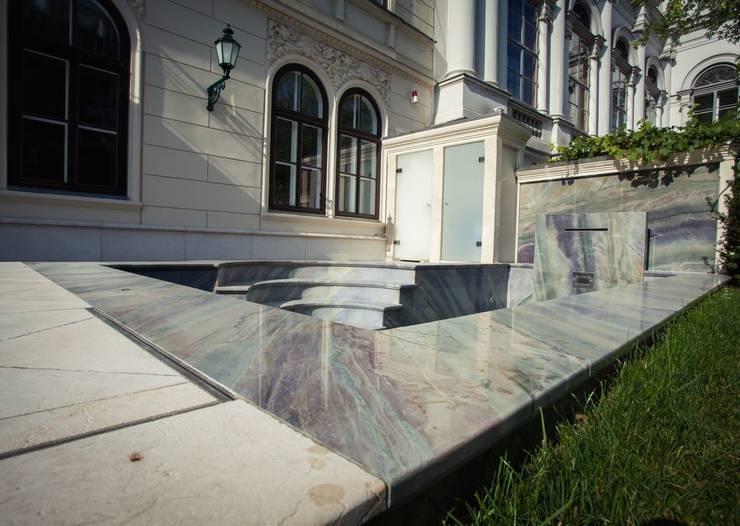 Projekty,  Basen zaprojektowane przez SCHUBERT STONE GmbH