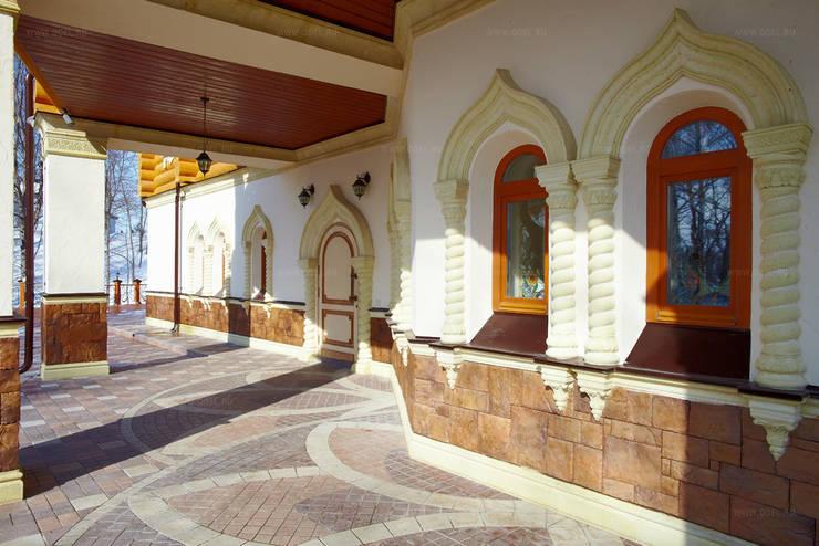 Гостевой дом, гостиница в Русском стиле: Дома в . Автор – ODEL