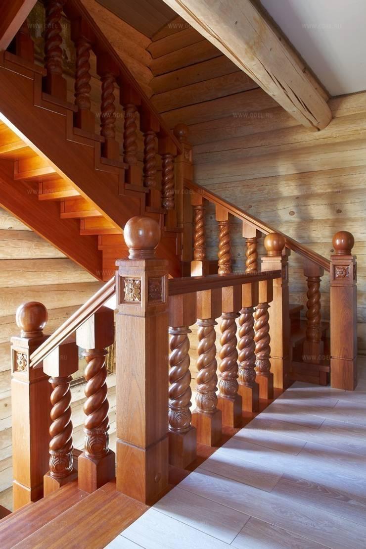 Гостевой дом, гостиница в Русском стиле: Коридор и прихожая в . Автор – ODEL