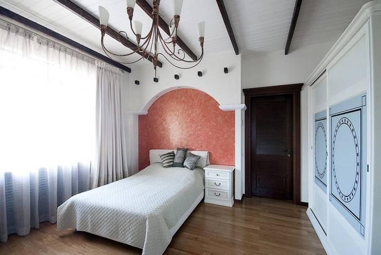 Дом в Средиземноморском стиле: Спальни в . Автор – freelancer