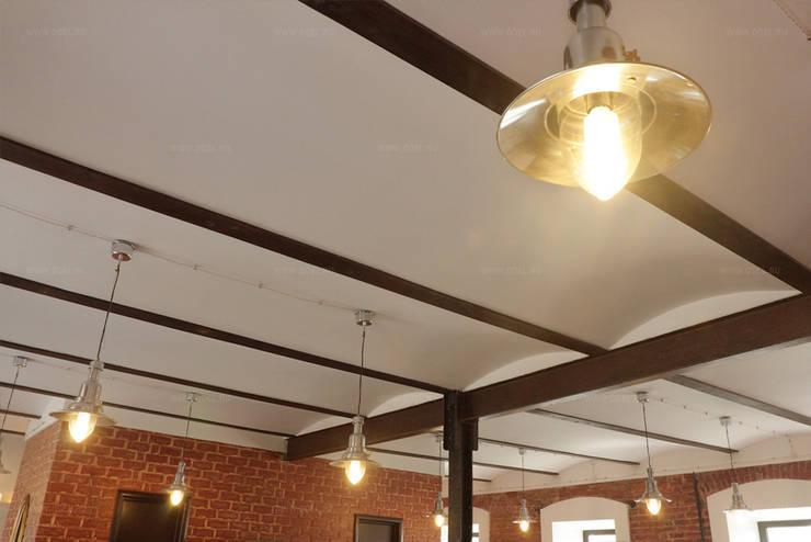Потолок Монье: Офисные помещения и магазины в . Автор – ODEL