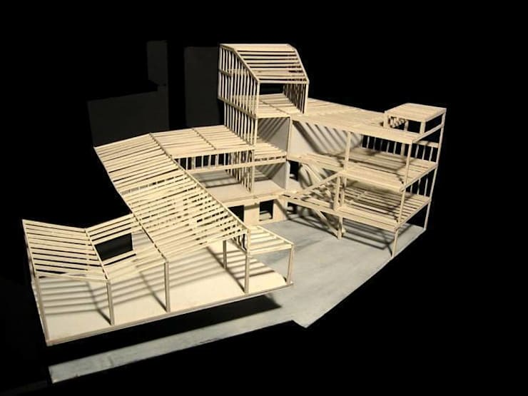 Limite Structure Model:   by SHSH Architecture + Scenography