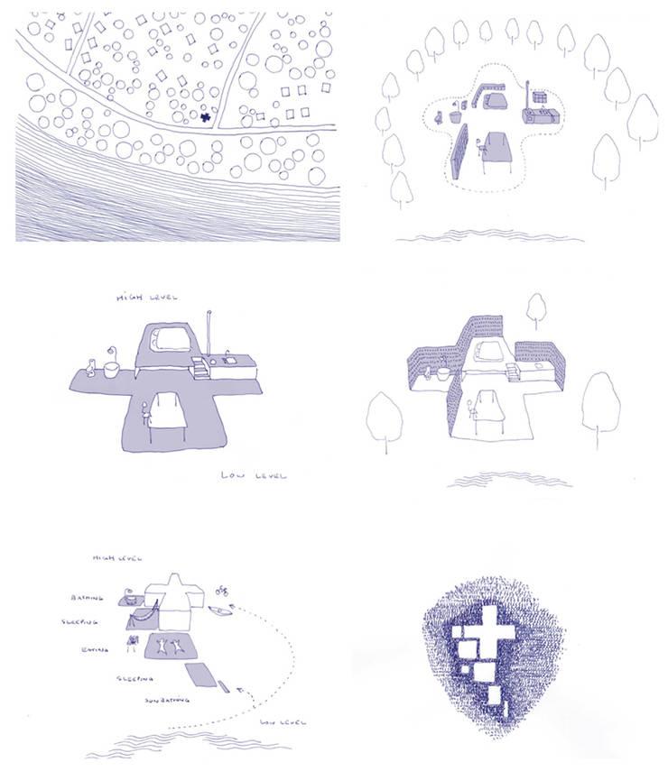 Lesnianski Concept Sketch:   by SHSH Architecture + Scenography