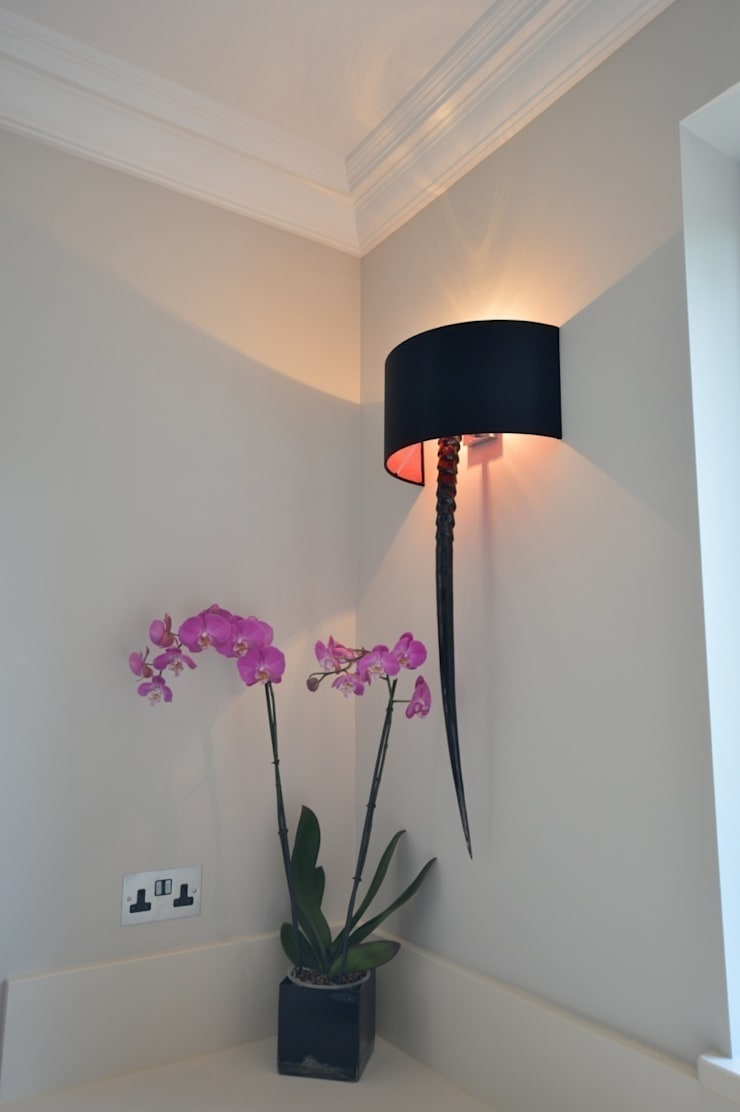 Wall light with horn :  Kitchen by Zodiac Design