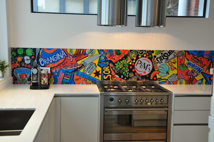 modern Kitchen by Atelier LouiseM