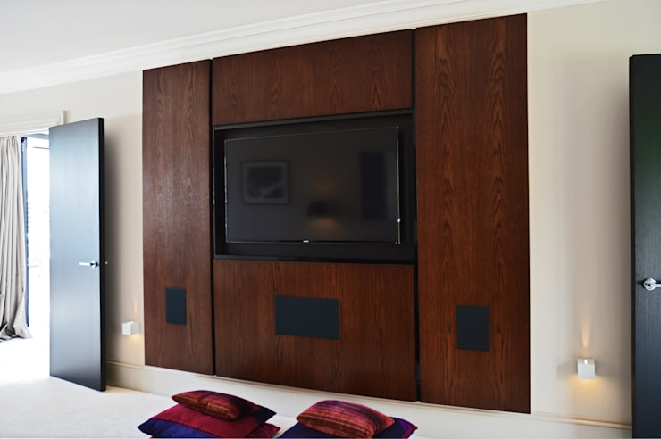 Cinema room :  Media room by Zodiac Design