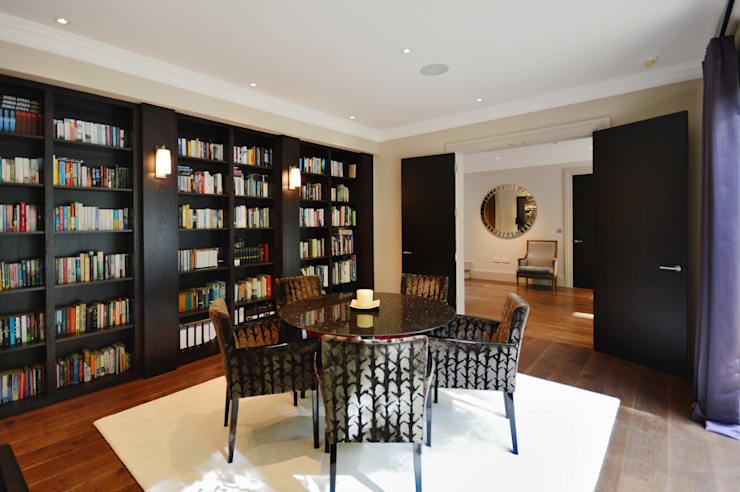 The library :  Dining room by Zodiac Design