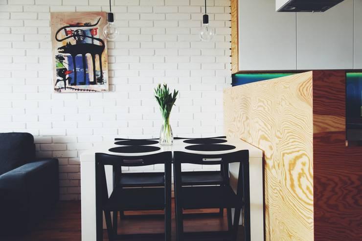 ofdesign Oskar Firek Plywood Warsaw kuchnia/jadalnia: styl , w kategorii Jadalnia zaprojektowany przez OFD architects