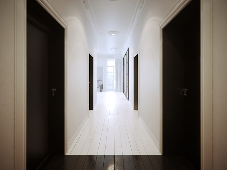 Corridor, hallway by OFD architects