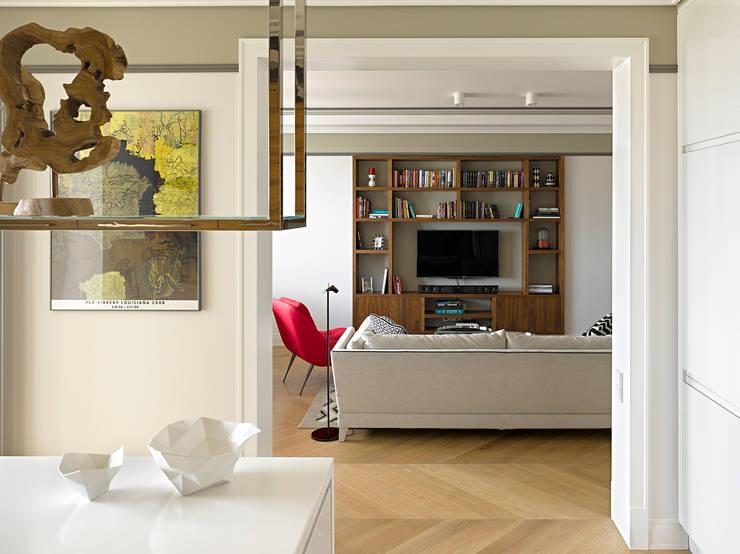 Квартира на ул.Балтийской / Москва: Кухни в . Автор – Бюро TS Design