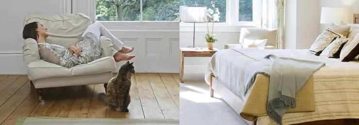 Feng-Shui y armonía: Dormitorios de estilo  de Kinergi.es