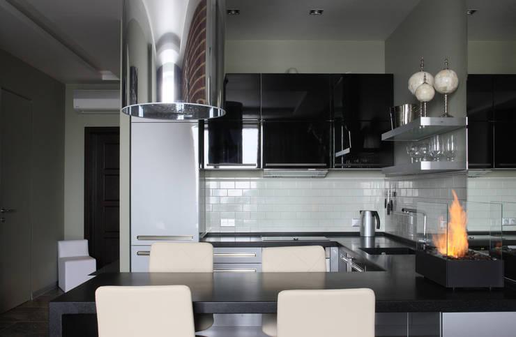 Апартаменты в жк <q>Авеню 77</q> / Москва: Кухни в . Автор – Бюро TS Design