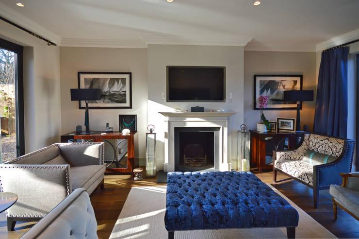 Living room : modern Living room by Zodiac Design