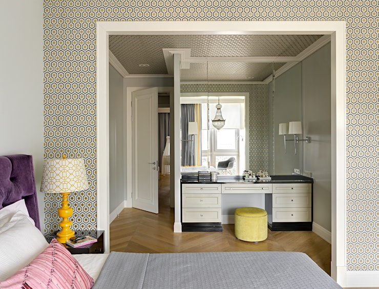 Квартира на ул.Балтийской / Москва: Спальни в . Автор – Бюро TS Design