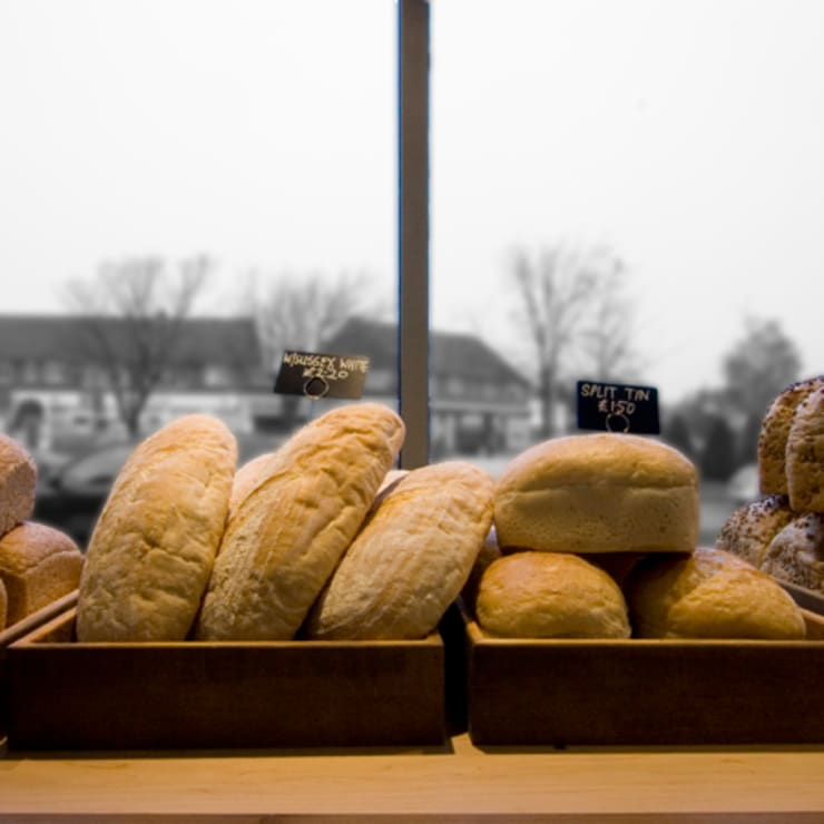 bread display:  Gastronomy by Engaging Interiors Limited