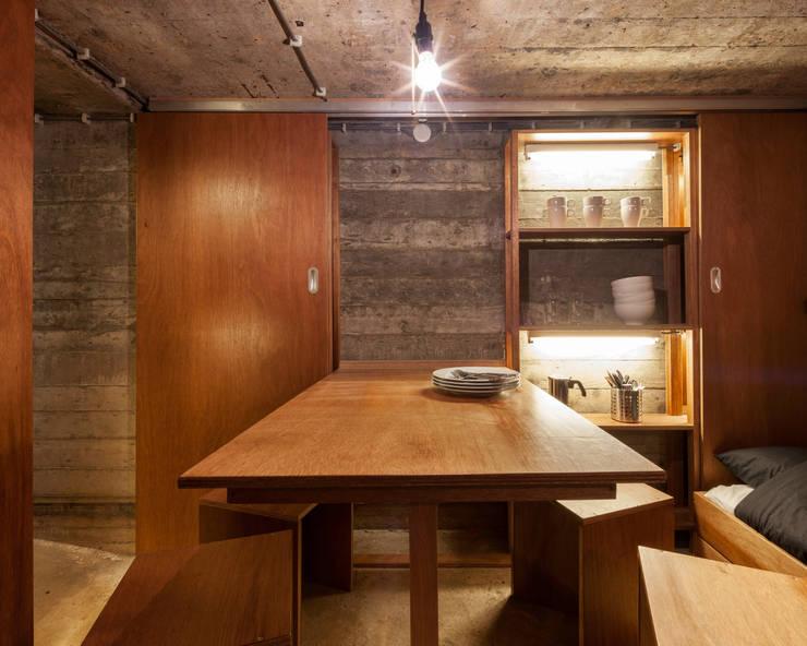 Phòng ăn theo B-ILD Architects,