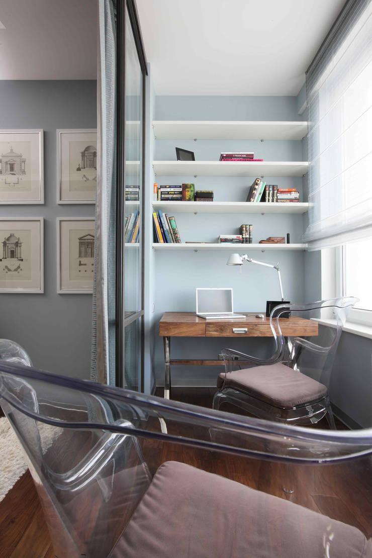 Апартаменты в жк <q>Авеню 77</q> / Москва: Рабочие кабинеты в . Автор – Бюро TS Design