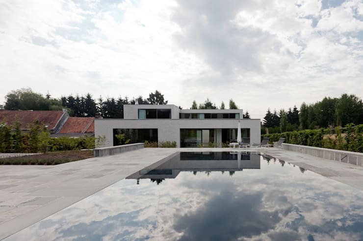 Pool by areal architecten cvba