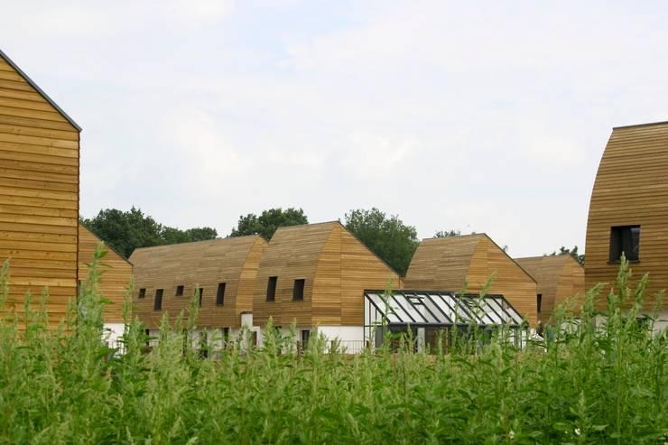 aanzicht Bomenbuurt van ARX architecten