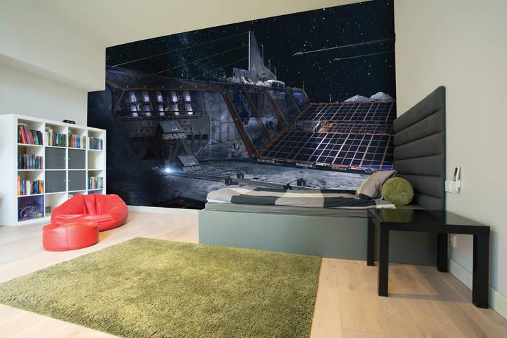 Lunar base:  Walls by Wallsauce.com