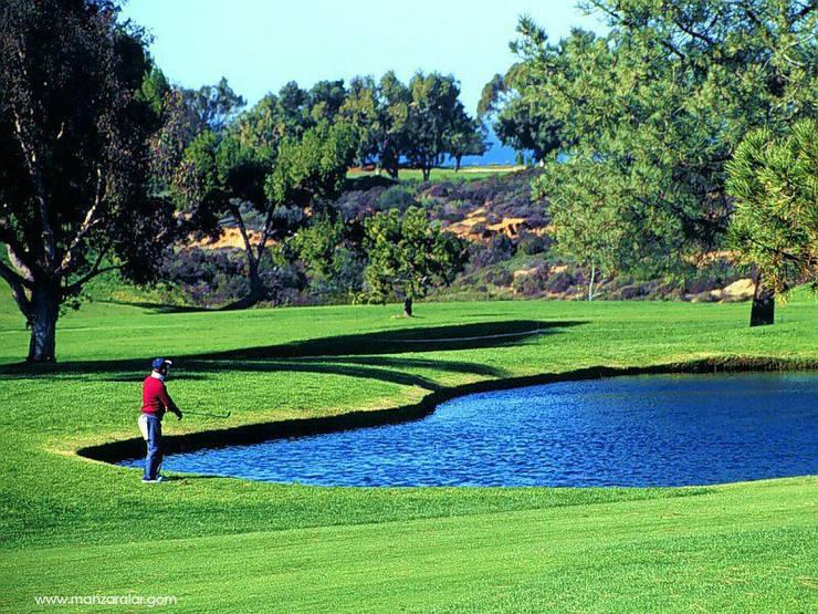 Ünal Peyzaj Ltd.Şti. – Golf Sahaları Yapımı:  tarz Bahçe