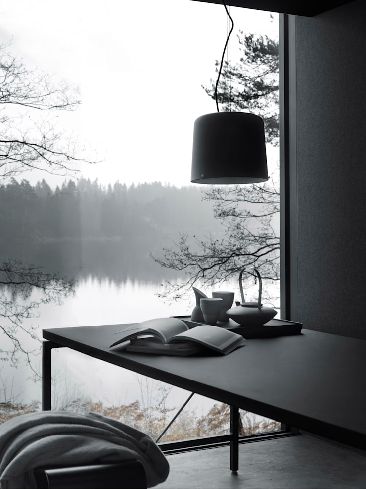 Vipp lamp:  Living room by Vipp