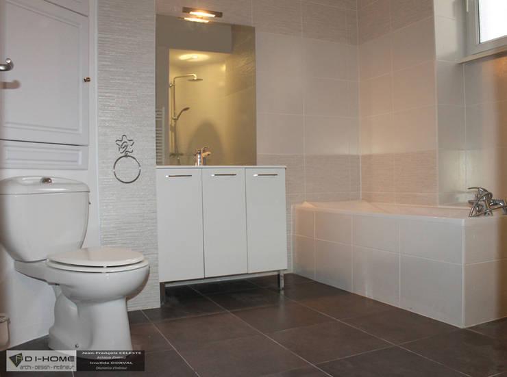 Projekty,  Łazienka zaprojektowane przez Agence ADI-HOME