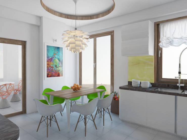 modern  door İNDEKSA Mimarlık İç Mimarlık İnşaat Taahüt Ltd.Şti., Modern