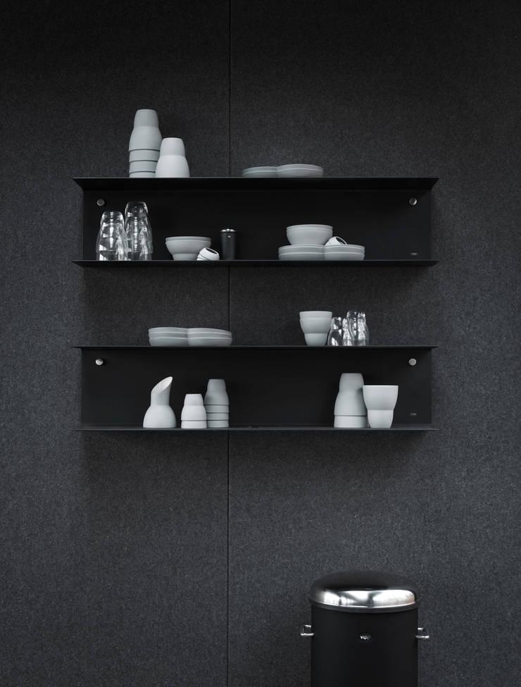 Vipp shelves:  Living room by Vipp