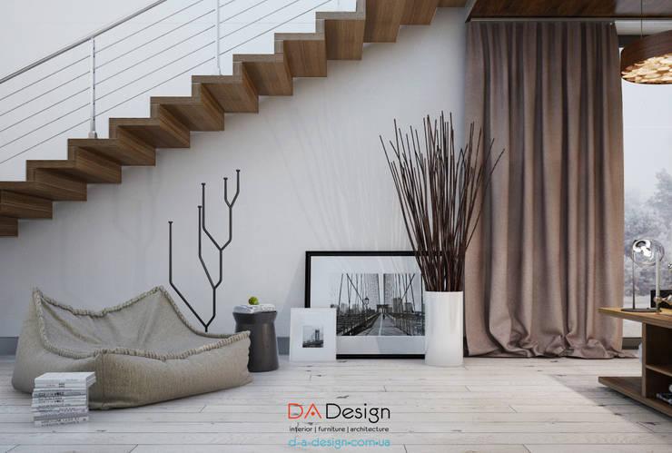 Salas / recibidores de estilo  por DA-Design,