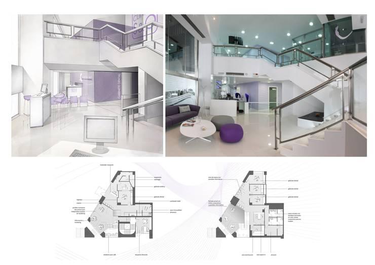 Recepción y zona de espera:  de estilo  de elementos interiorismo y diseño
