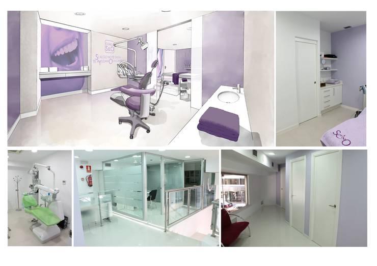 cabinas dentales: Clínicas de estilo  de elementos interiorismo y diseño