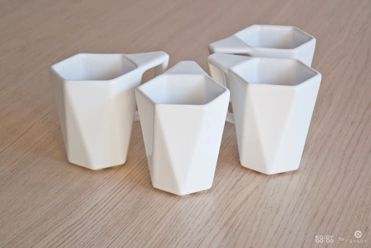 Kubek MODERN: styl , w kategorii Kuchnia zaprojektowany przez KABO & PYDO design studio