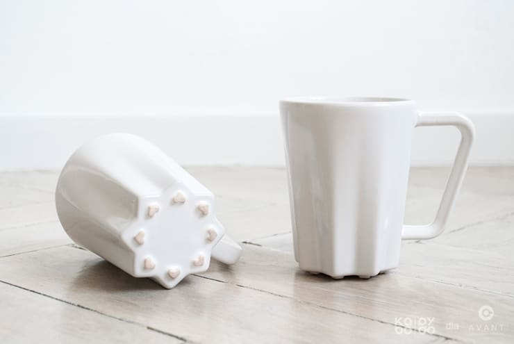 Kubek STELLA: styl , w kategorii Kuchnia zaprojektowany przez KABO & PYDO design studio