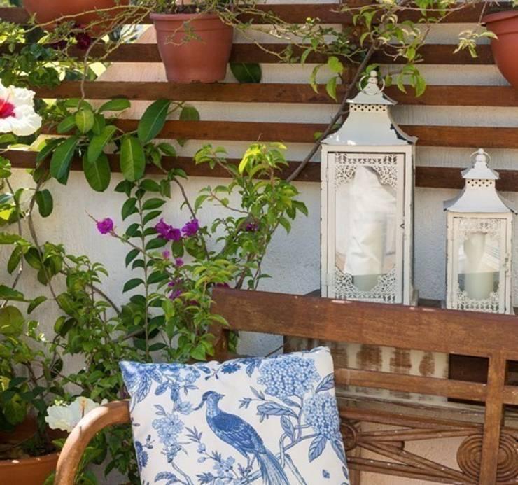 Eclectic style garden by Blacher Arquitetura Eclectic