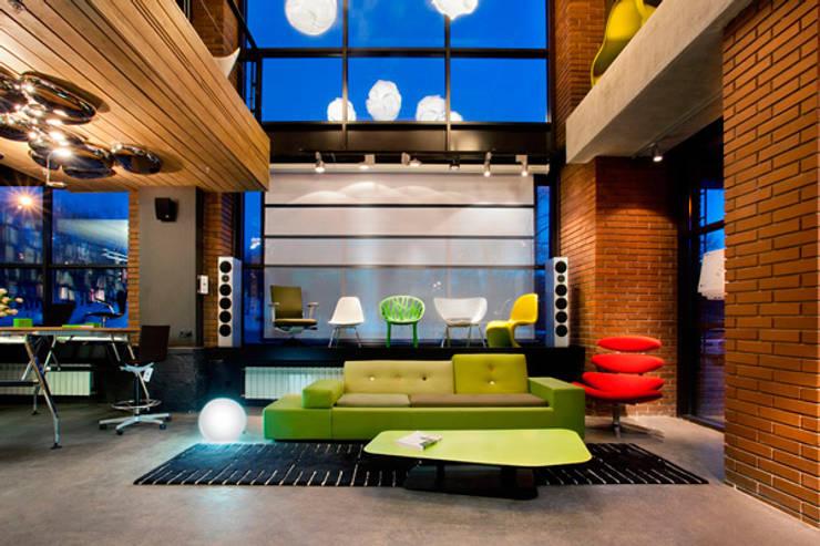 Презентационная зона: Офисные помещения в . Автор – Megabudka