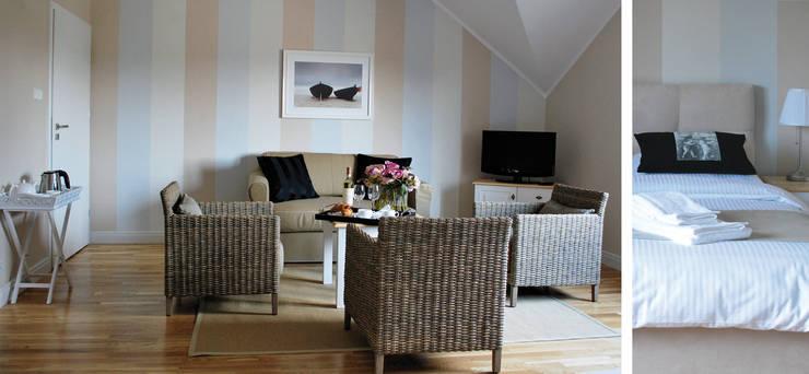 Pensjonat Marina Jacht - apartament: styl , w kategorii Hotele zaprojektowany przez Paszkiewicz Design