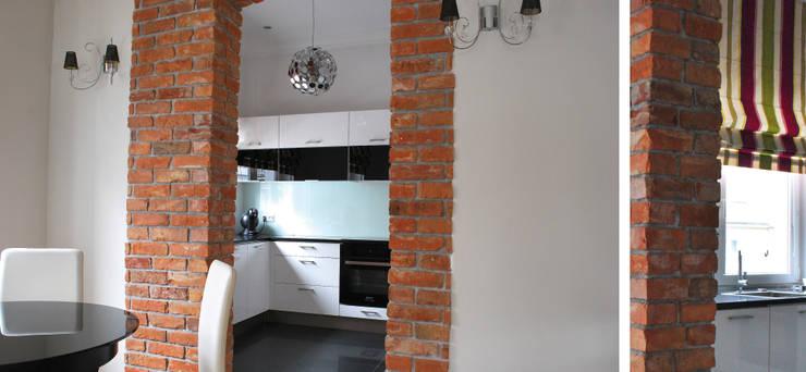 Apartament w Sopocie - kuchnia: styl , w kategorii Kuchnia zaprojektowany przez Paszkiewicz Design