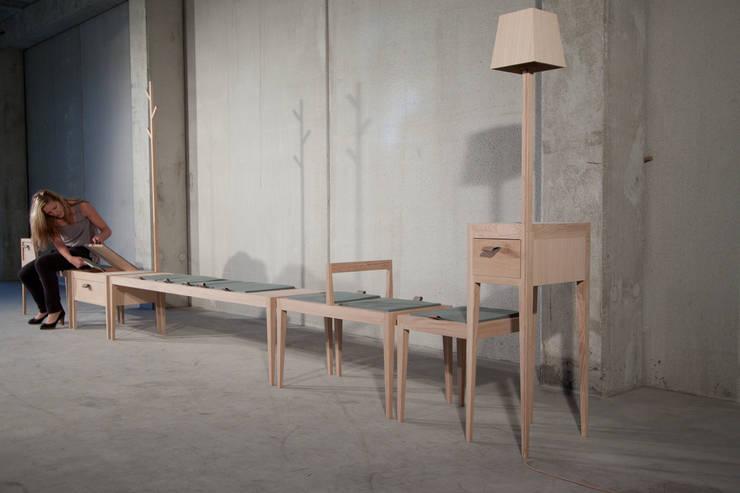 NAiF | 003:  Woonkamer door Carina van den Bergh | design studio