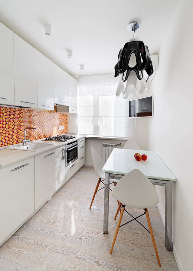 квартира <q>Машина для жилья</q>: Кухни в . Автор – 'Живые вещи 'Максимовых- Павлычевых'