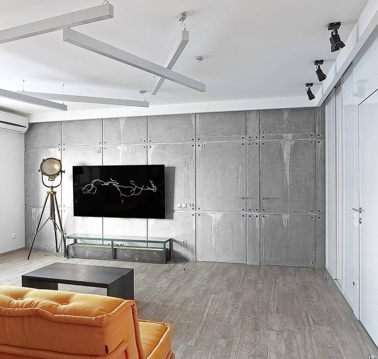 Ruang Keluarga oleh 'Живые вещи 'Максимовых- Павлычевых', Industrial