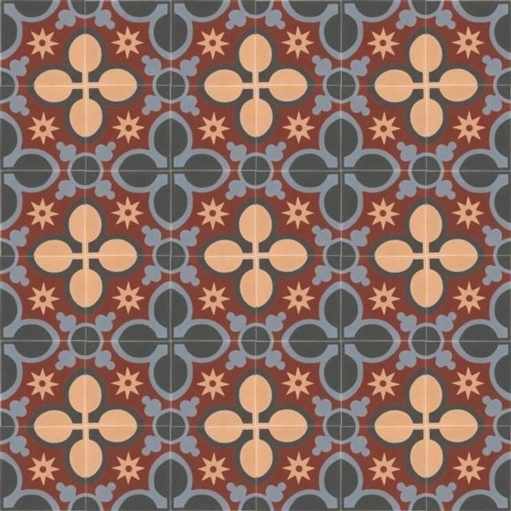 ALBA - cementowe płytki podłogowe: styl , w kategorii Ściany i podłogi zaprojektowany przez Kolory Maroka
